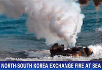 Koreas Exchange Fire During Drills