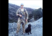 Army Vet and Service Dog Reunited