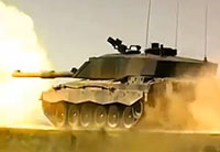 Britain's Challenger 2 Battle Tank