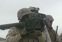 Marines Fire Stinger Weapon Systems