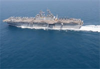 USS Bonhomme Richard Underway