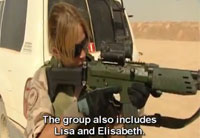 Swedish Female Soldiers in Afghanistan Pt 1