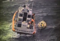 Coast Guard Crew Rescues Sailor