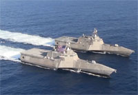 LCS Formation in the Pacific Ocean