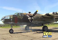 WWII Vet is Granted Wish to Fly in B-25