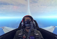 Flying with the USAF Thunderbirds