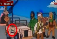 Simpsons 'Prove' Syria War Conspiracy