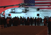 CH-53K Helicopter Rollout Event