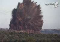 Syrian Rebels Torpedo Regime Barrier