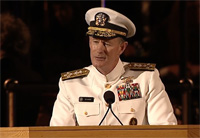 Naval Adm. Delivers Graduation Speech