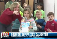 Little Girl Gets a Huge Surprise