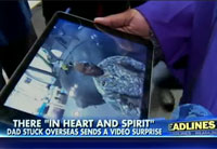 NYU Grad Gets Special Video Message