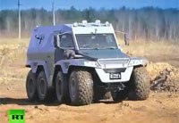The Avtoros Shaman 8x8 ATV