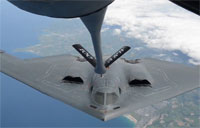 Beautiful B-2 Refueling Over Europe