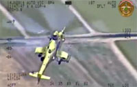 Iraqi Army Aviation Destroys Terrorists