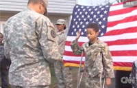 Soldiers Make Boy's Dying Wish Come True