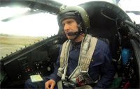 Cockpit View of Мi 28 Helo Formation