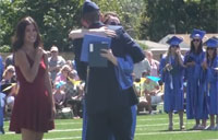Soldier Surprises Sister at Graduation