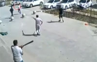 Religious Extremists Attack with Axes