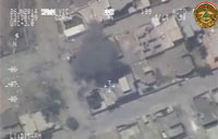 Iraqi Air Force Targets Daash in Anbar