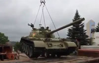 Militia Steals T-55 Tank from Museum