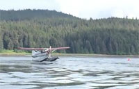 Plane Almost Lands on a Whale in Alaska