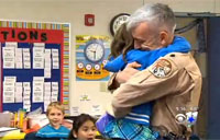 9-Year-Old Gets Biggest Surprise Ever