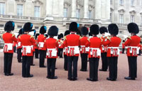 Queen's Guards Play 'Game of Thrones'