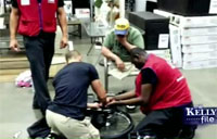 Lowe's Workers Repair Vet's Wheelchair