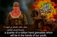 Hamas to Give Hand Grenades to Youth