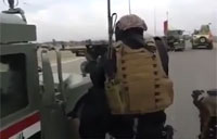 Iraqi ERU Engages ISIS with Firefight