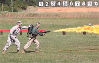 Marines Turn Up Heat with Flamethrower