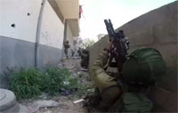 IDF Special Forces Storm Building in Gaza