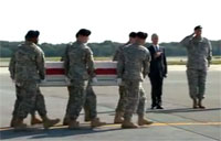 MG Greene's Remains Returned to U.S.