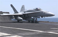 Navy Fighters Launch to Attack ISIL