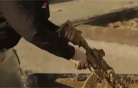 HK416 Assault Rifle Mud & Sand Test