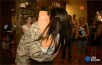 Airman Surprises Girlfriend with Proposal