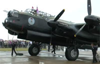 The Last Two Airworthy Lancasters Meet