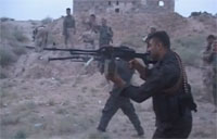 Front Line Footage of Kurds Fighting ISIL