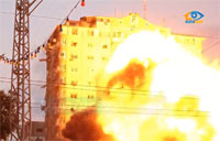 Israel Bombs Gaza Apartment Tower