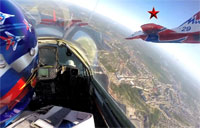 Ride Along with Russian Aerobatics Team