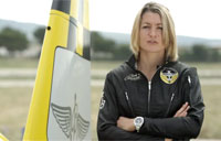 Aude Lemordant Takes Flight with Breitling