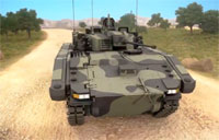 Scout Specialist Vehicle Simulation