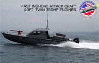 700 HP Speedboat Can't Outrun Missile