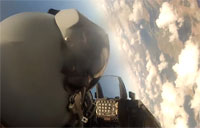 Portuguese F-16 Performs BFM with Mig-29 P2