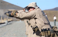Marines Train in Close Quarters Combat