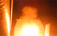 USS Philippine Sea Launches Missiles on ISIL