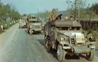 Amazing WW2 Color Film - Czechoslovakia