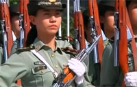 Honor Guards the Face of China's Military