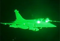 French Fighters Conduct Night Mission Over Iraq